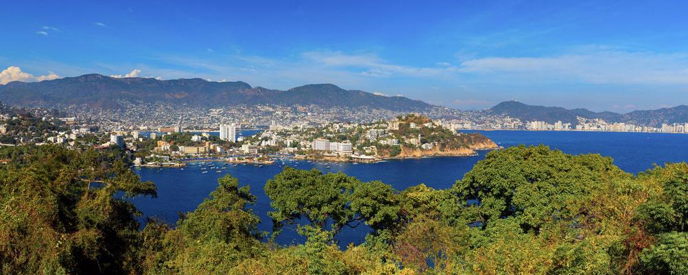 Acapulco Coast in Mexico