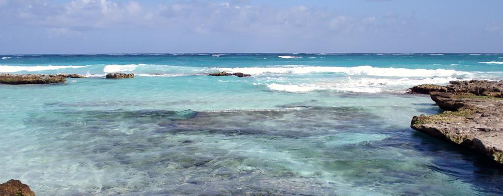Playa Caleta Tankah in Quintana Roo